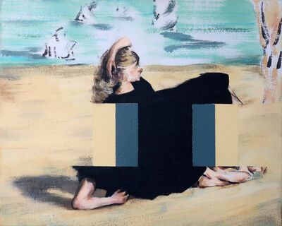 Darren Coffield, 'On the Beach [After Edouard Manet]', 2019