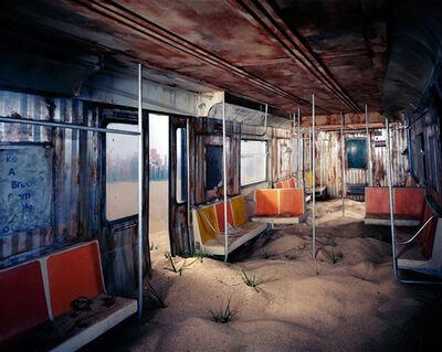 "Lori Nix and Kathleen Gerber, '""Subway""', 2012"