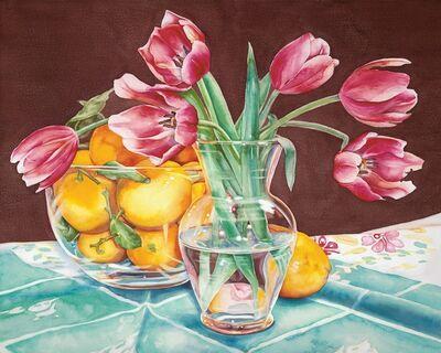Kathrine Lemke Waste, 'Lemons & Tulips'