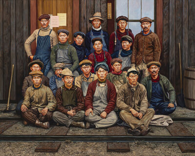 Mark Lang, 'Documents (Workers)', 2019
