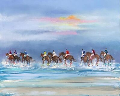 Victor Spahn, 'Les chevaux ', ca. 2019