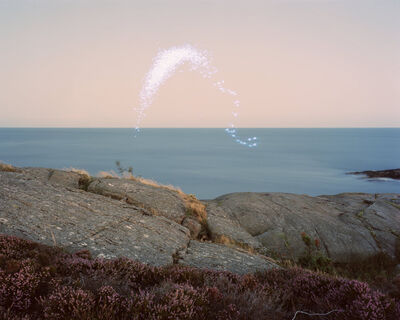 Ole Brodersen, 'light, kite and string #1', 2016