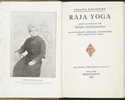 Swami Vivekananda, 'Raja Yoga. Tamil Nadu, India, 1944 reprint of 1896 edition', 1896/1944