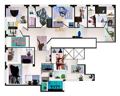 Joana P. Cardozo, 'Blueprint 22 ', 2018