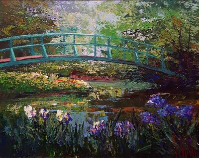 Mark King, 'Bridge at Giverny', 1991