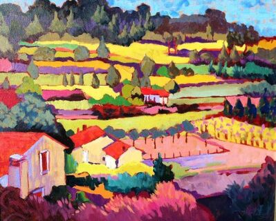 "Claudia Hartley, '""Pretty Provence""', 2015"