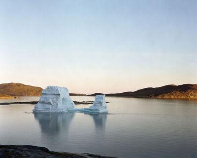 Olaf Otto Becker, 'Iceberg Rodebay 2, 07/2003, 69°22'16'' N, 50°54'08'' W', 2003