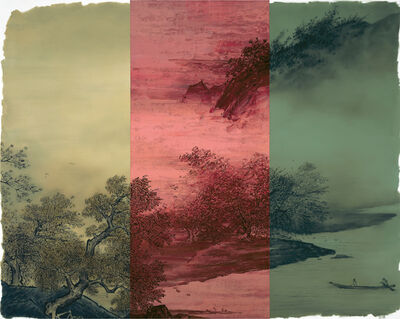 He Sen, 'The Autumn Wind in the Hollow', 2014