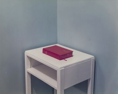 Paul Graham, 'Bible, Drivers' Rest Room, Blyth Services, Blyth, March', 1981