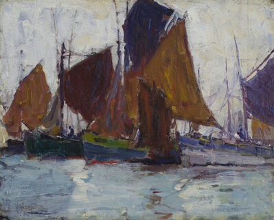 Harry Aiken Vincent, 'Fishermen', 19th -20th Century
