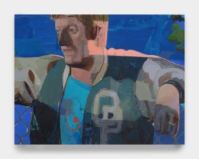 Matt Bollinger, 'Letter Jacket III', Flashe and acrylic on canvas