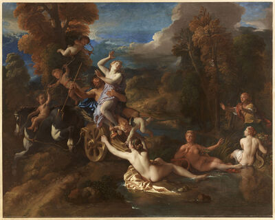 Charles de La Fosse, 'L'enlèvement de Proserpine (The Abduction of Persephone)', 1673