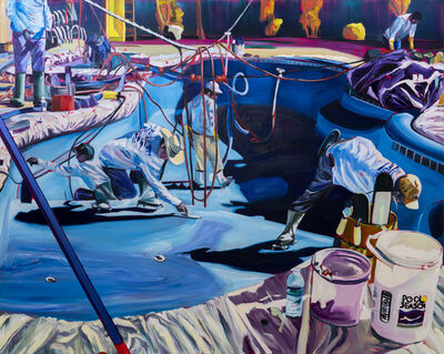 Rex Southwick, 'Plastic Pool', 2019