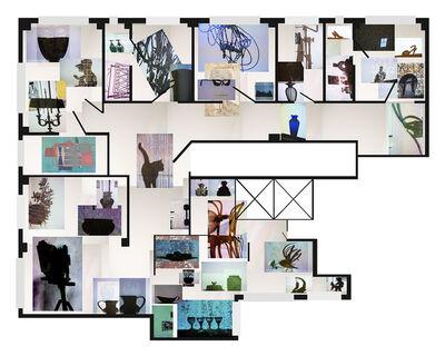 Joana P. Cardozo, 'Blueprint 22 - Reinfelds', 2018