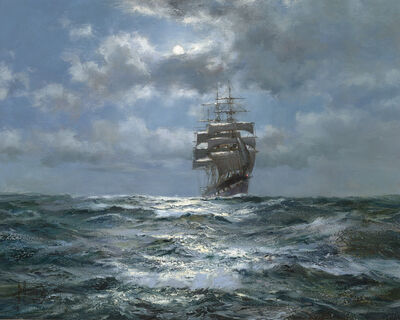 Montague Dawson, 'Melody in Silver: The Golden Fleece', 1919