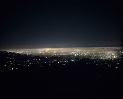 Michael Light, 'L.A. Basin Looking Southeast Above Bel Air Crest Homes, Los Angeles, CA', 2016