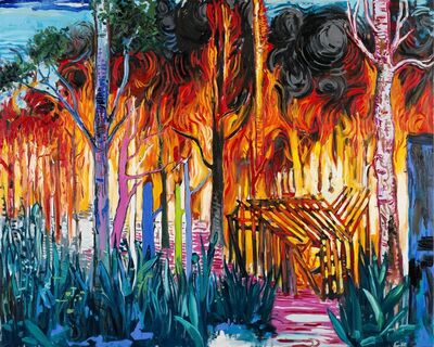 Abraham Lacalle, 'Fire (Incendios)', 2015