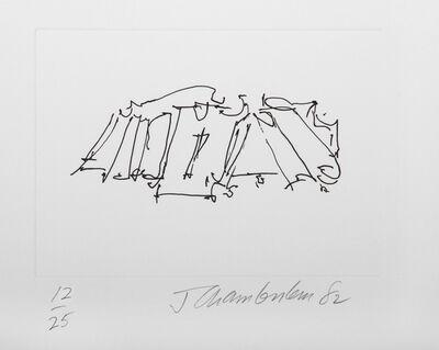 John Chamberlain, 'IV from the Ten Coconut Portfolio', 1982