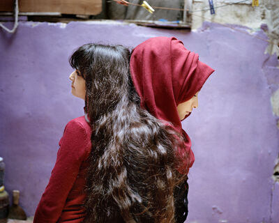Rania Matar, 'Sara and Samira, Bourj El Barajneh Refugee Camp, Beirut, Lebanon', 2018