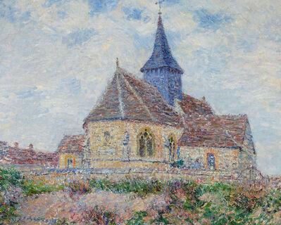 Gustave Loiseau, 'L'église de Porte-Joie dans l'Eure', 1901