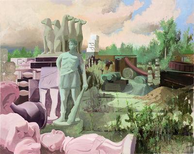 Tilo Baumgärtel, 'Grundstück', 2017