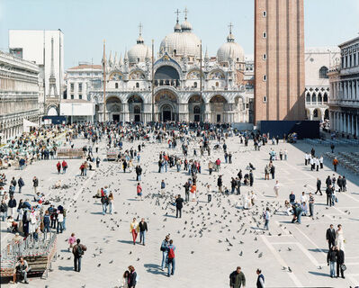"Massimo Vitali, '27 Venezia San Marco from ""A Portfolio of Landscapes With Figures', 2006"