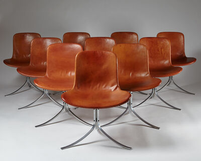 Poul Kjærholm, 'Dining chairs PK9 ', 1961