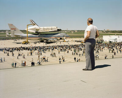Joel Sternfeld, 'The Space Shuttle Columbia Lands at Kelly Lachland Air Force Base, San Antonio, Texas, March 1979', 1979-2008