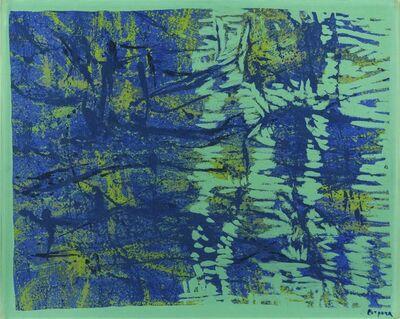 Antonio Corpora, 'Controluce sul fiume', 1977