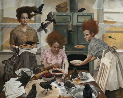 Andrea Kowch, 'The Visitors - Limited Edition Signed Print', 2019