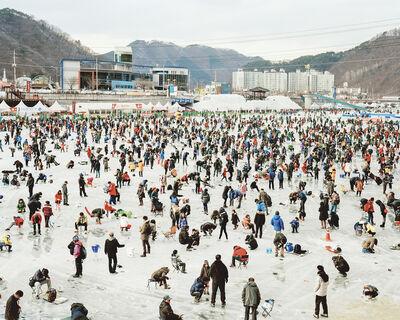 Kim Seunggu, 'Ice Fishing', 2014