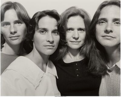 Nicholas Nixon, 'The Brown Sisters, Cambridge', 1986
