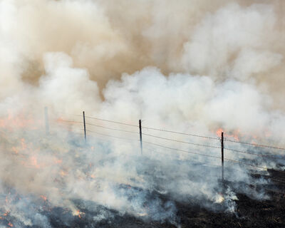 Stephan Anderson-Story, 'Missouri Pasture Burn, Drexel, Missouri', 2017