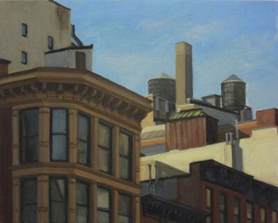 Ella Yang, 'Rooftop Towers', 2016