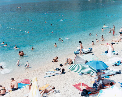 Massimo Vitali, 'Zlatni Rat North 2, Croatia (#3902)', 2010