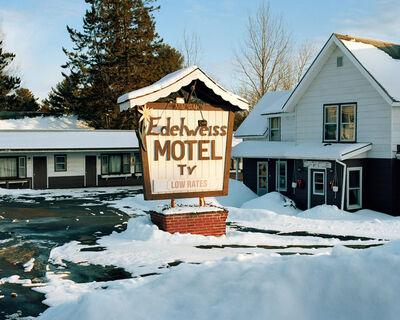Miska Draskoczy, 'Edelweiss Motel', 2017