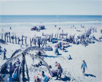"Massimo Vitali, 'Spiagge Olandesi ""Bloemendaal""', 2001"