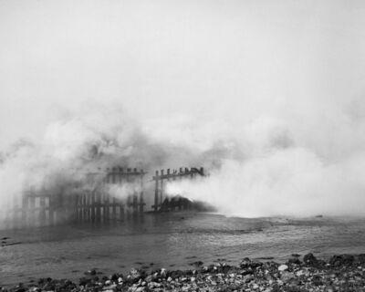 Mimi Plumb, 'Burst of Flame, Pier Fire', 1985
