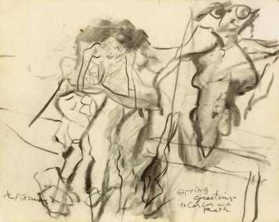 Willem de Kooning, 'Untitled (Clamdigger Series)', 1965