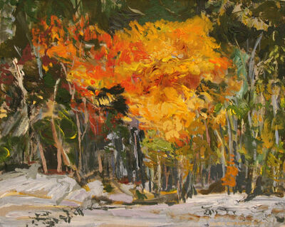 David Alexander, 'First Snow in the North', 2001
