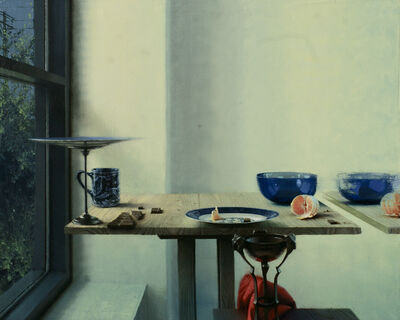 Daniel Sprick, 'Still Life with Orange and Chocolate'