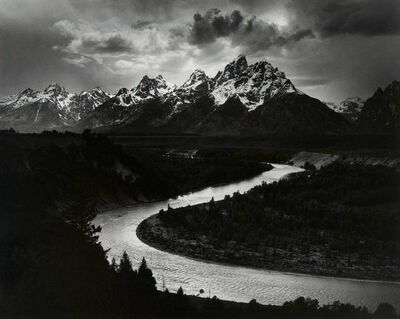 Ansel Adams, 'The Grand Tetons and Snake River, Grand Teton National Park', 1942