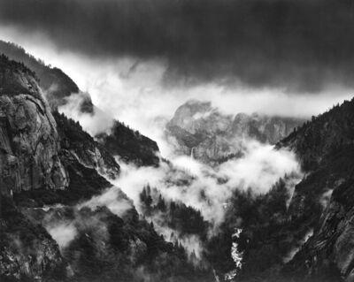 Alan Ross, 'Bridalveil Fall in Storm, Yosemite', 1974-printed 2001