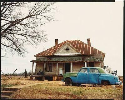 William Christenberry, 'House and Car, near Akron, Alabama, 1981', 1978-1981