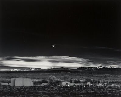 Ansel Adams, 'Moonrise, Hernandez, New Mexico', 1941