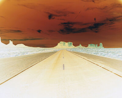 Maciej Markowicz, 'Negative #121, Road to Monument Valley, August 2012', 2012-2020