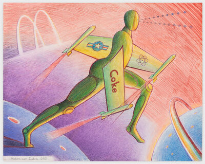 Anton van Dalen, 'Science Fiction #3', 1983