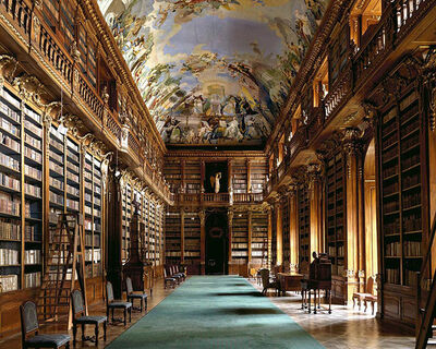 Massimo Listri, 'Strahov Library, Prague | World Libraries', 2009