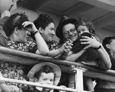 Robert Capa, 'Israel, family looking the Promised Land', 1948-1950