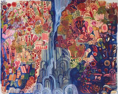 Ashley Amery, 'Narrow Waterfall (Glinting)', 2020